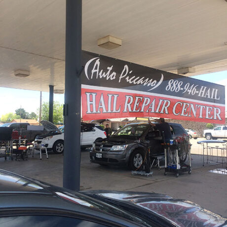 Paintless Dent Repair for Hail Damage